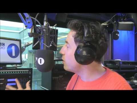 Serge Pizzorno Kasabian Grimmy BBC Radio 1 2017