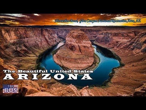 USA Arizona State Symbols/Beautiful Places/Song I LOVE YOU ARIZONA w/lyrics