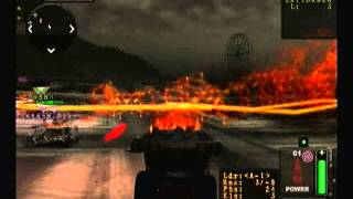 Twisted Metal Black Online Team Deathmatch Surburbs