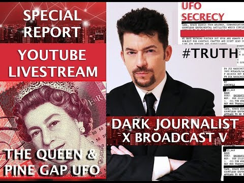 DARK JOURNALIST - QUEEN ELIZABETH PINE GAP UFO BASE X & SUMERIAN SPACE SECRET!