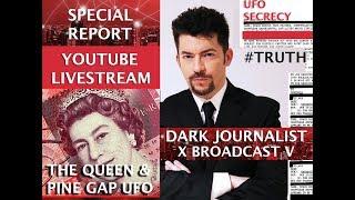 DARK JOURNALIST X-SERIES V: QUEEN ELIZABETH PINE GAP UFO BASE X & SUMERIAN SPACE SECRET!