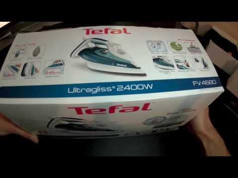 tefal-fv4680-dampfbügeleisen---unboxing---deutsch/german
