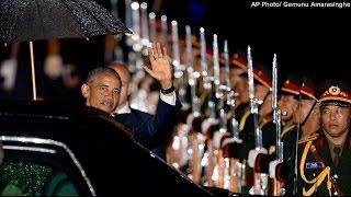 President Obama Arrives in Laos - Visit Meant to Rebuild Trust [Reporter]