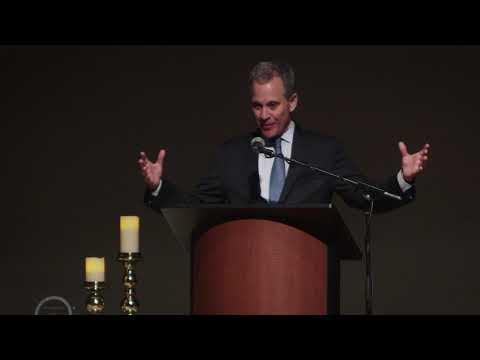 AG Eric Schneiderman at the New York Latter-day Saint Professional Association Banquet