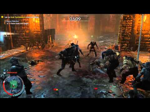 MİDDLE EARTH SHADOW OF MORDOR THEY SHALL NOT PASS  