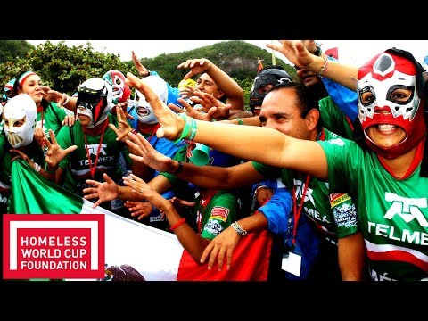 Chile 7 - 2 Mexico! | Match Clip | Homeless World Cup Rio 2010 | Throwback