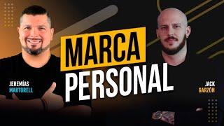 Marca personal, marketing y redes sociales con Jack Garzón en el podcast de Jeremías Martorell #116