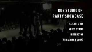 TICA, RINA & SENA are Instructor of RIBBON Dance School. @RDS STUDI...