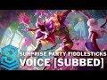 Voice - Surprise Party Fiddlesticks [SUBBED] - English