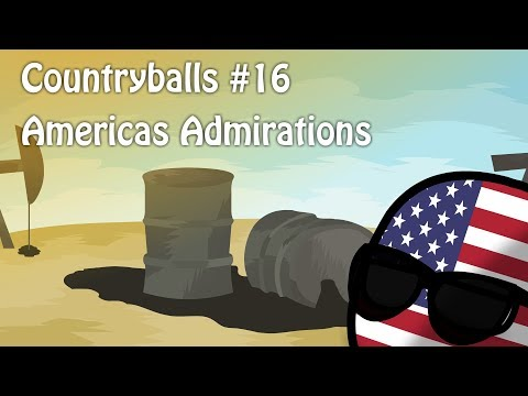 "видео: Countryballs №16 ""Americas Admirations"""