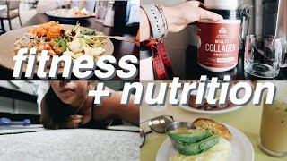Workout schedule + healthy eating tips ...