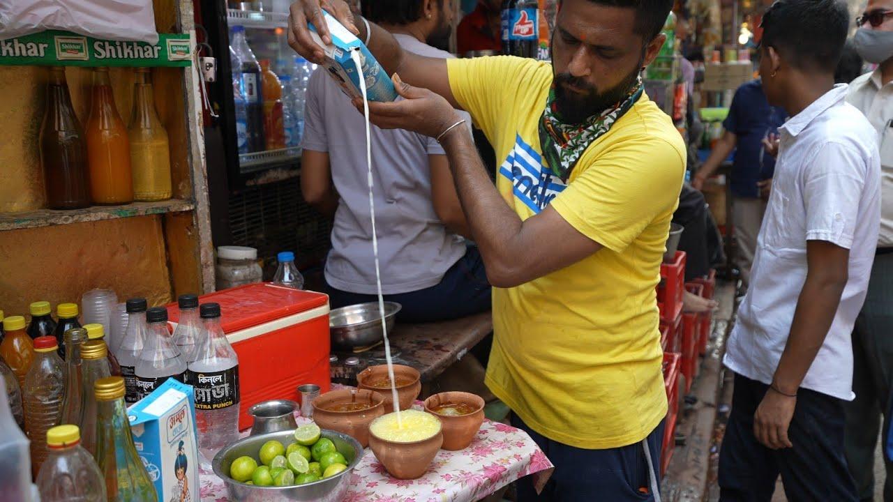 UNIQUE Summer Drinks of Kolkata | Milk kesar | Indian Street Food