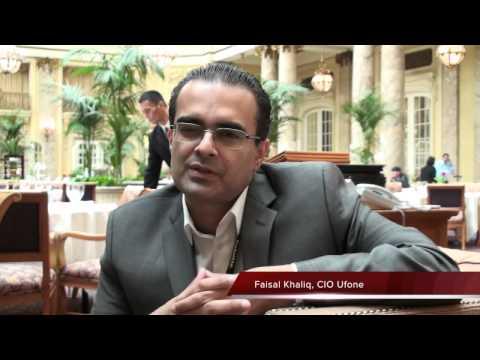 Events: Faisal Khaliq, CIO Ufone, Talks About Oracle Open World 2012