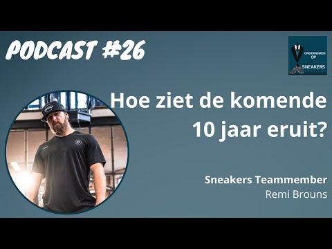 Podcast #26 Hoe ziet de Fitness branche er het komend 10 jaar uit? Remi Brouns