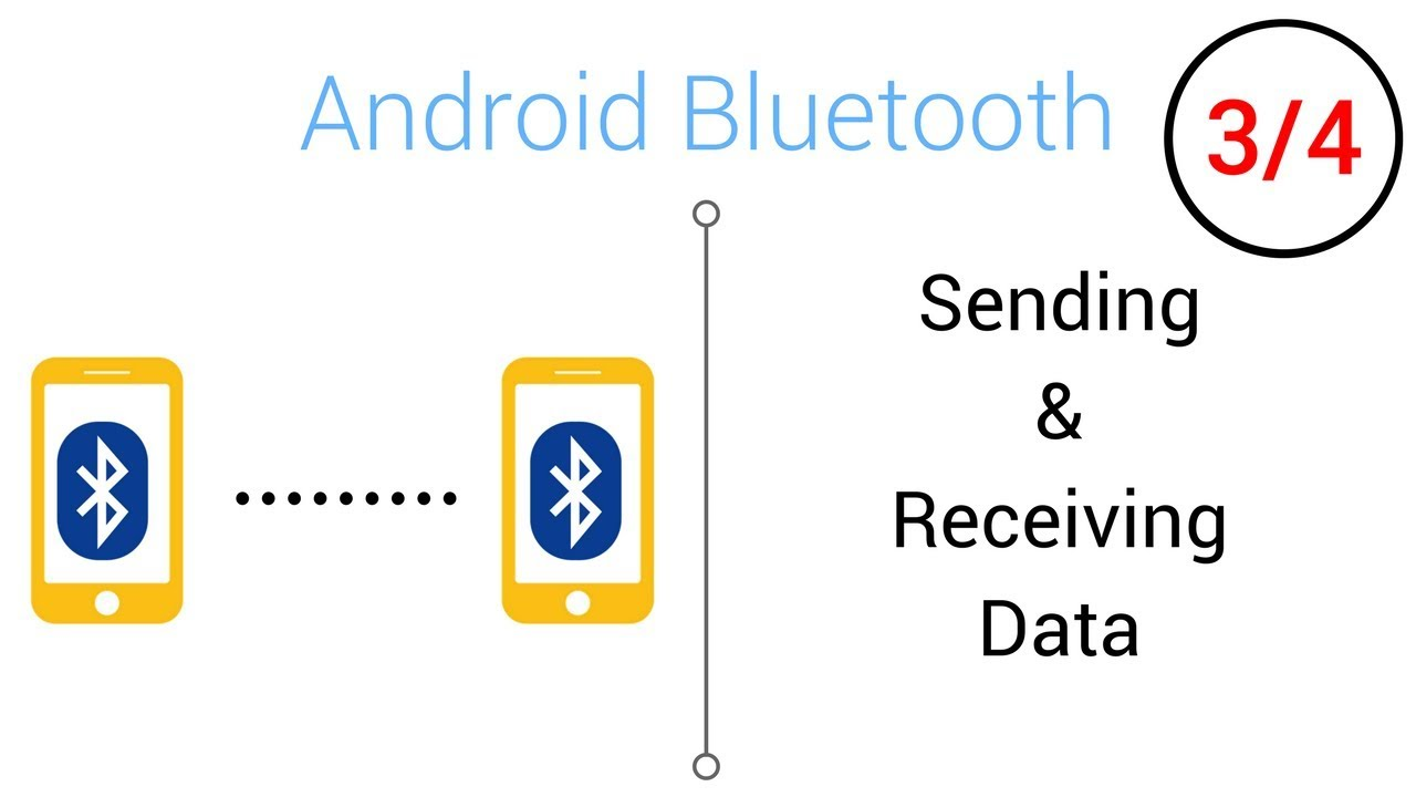 Bluetooth Tutorial - Sending/Receiving Data with Bluetooth (Part 3/4)
