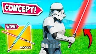 *EPIC* LIGHTSABER ITEM CONCEPT!! - Fortnite Funny Fails and WTF Moments! #745