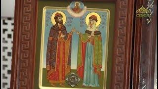 Союз-онлайн. Прямое включение. От 15 июля 2019. Мощи святых Петра и Февронии в Москве