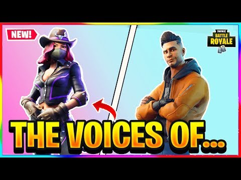 *NEW* THE VOICES OF CALAMITY AND MAVERICK... | Fortnite Battle Royale Lore