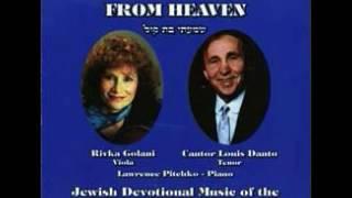 I Heard a Voice From Heaven - Louis Danto  Rivka Golani  Lawrence Pitchko