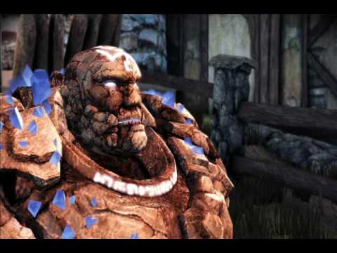 Dragon Age Origins, Shale kills a chicken. - YouTube Shale Dragon Age