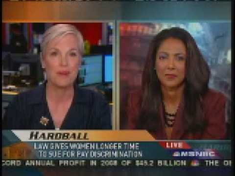 Hardball: Michelle Bernard vs Cecile Richards on Lilly Ledbetter