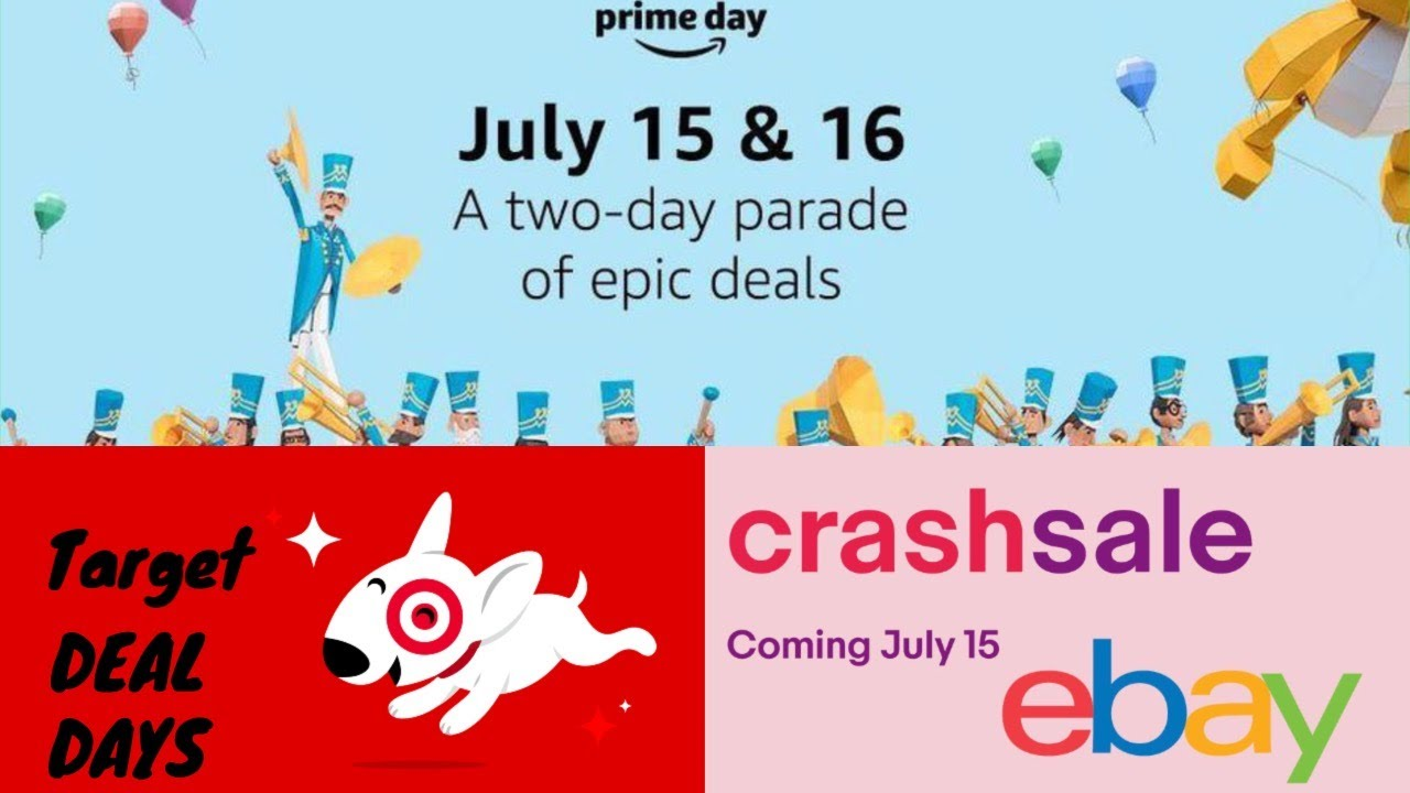 Amid Amazon's Prime Day, eBay launches 'crash sale' on series of items