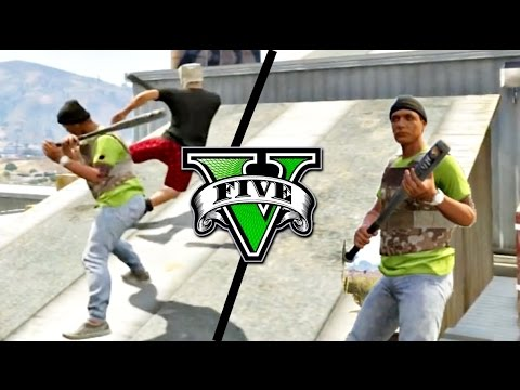 GTA V Online: BRIGA NAS ALTURAS, SO NO PAU !!!