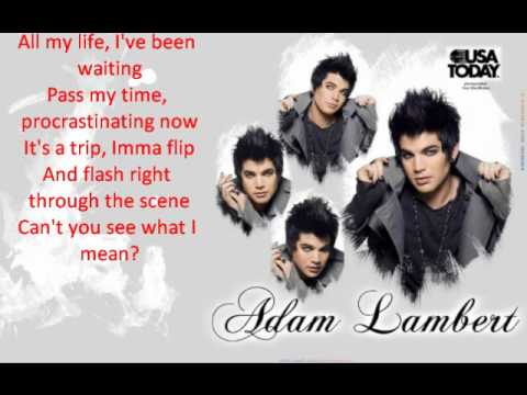 Adam Lambert-Pick U Up(Lyrics)