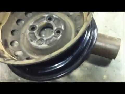Fix Bent Rim >> How to Fix a Bent Rim. - YouTube