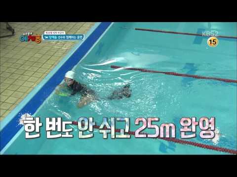 150901 Yuri finswimming full cut