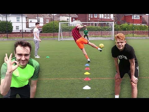 ULTIMATE 2V2 FOOTBALL CHALLENGE VS AJ3 & JACK54!!