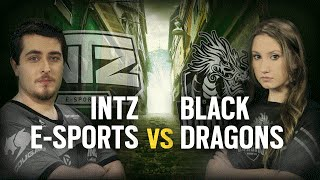 [BR] INTZ ESPORTS vs. BLACK DRAGONS | Play Day #5 | EliteSix S03 (PC)