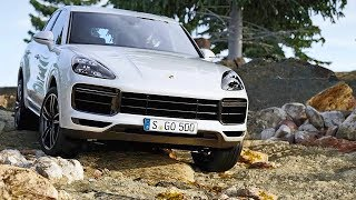 Porsche Cayenne Turbo (2018) Features, Driving, Design [YOUCAR]