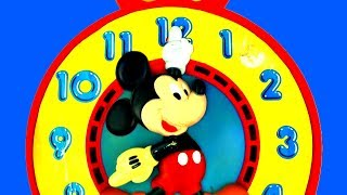 Mickey Mouse Toy Clock - Learn To Tell The Time With Mickey Mouse Disney Mattel Toys 1981 Fluffyjet