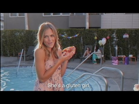 Gluten-Free Fallin' (Tom Petty Free Fallin Music Video Parody)