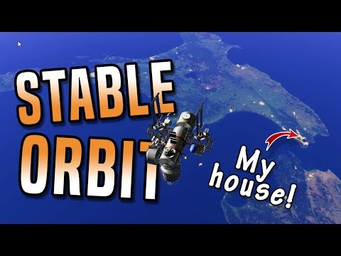 BUILD A SPACE STATION! Stable Orbit - space station building game