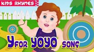 Phonics Song | song 'y' |  Kids Club Rhymes | YoYo Song