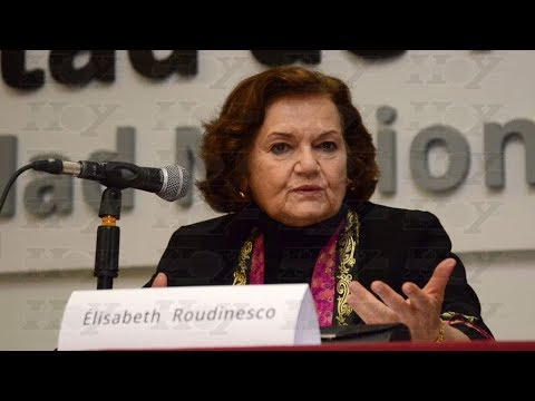 Élisabeth Roudinesco, alumna de Foucault, pasó por la ciudad