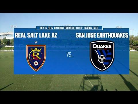 Development Academy Semifinal - U-17/18: RSL-AZ vs. San Jose Earthquakes - July 16, 2015