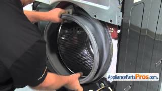 Washer Inner Door Gasket Clamp (part # 4861ER2001D) - How To Replace