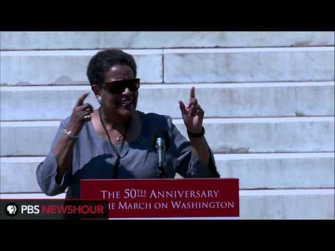 Watch Myrlie Evers-Williams Speak at 50th Anniversary Celebration of MOW