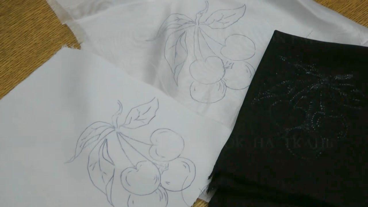 как перенести изображение на ткань