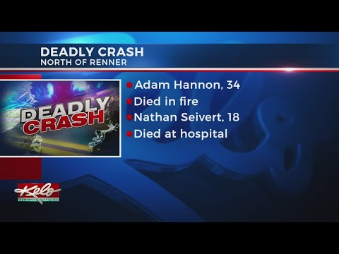 Fiery Crash In Minnehaha County Kills Both Drivers