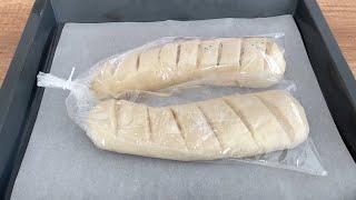 ЭТОТ РЕЦЕПТ ХЛЕБА ПОБИЛ ВСЕ РЕКОРДЫ ВОДА И РУКАВ Хрустящий Хлеб в Рукаве