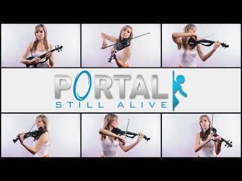 Portal - Still Alive (Anastasia Soina vioin)