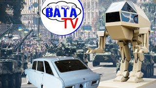 Как Россия парад украинский смотрела