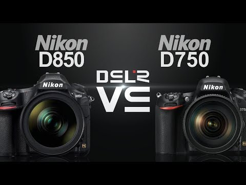 Nikon D850 vs Nikon D750