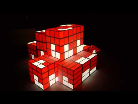 3D Video Projection Mapping on Cubes with Quartz Composer