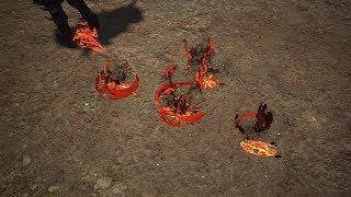 Path of Exile: Dragon Hunter Footprints
