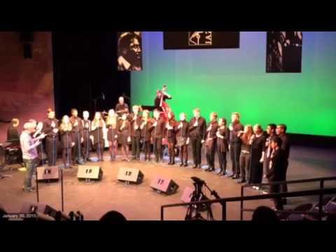 Seattle Academy Jazz Choir II at Bellevue Jazz Festival